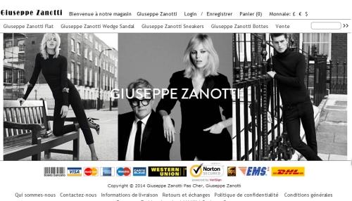 Giuseppe Zanotti Sneakers Soldes  Pas Cher